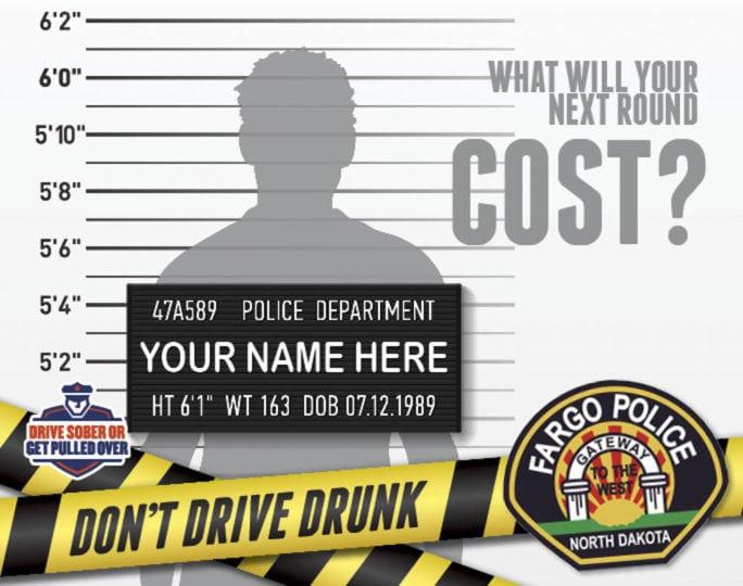 Fargo Police | Indoor Billboards | Off The Wall Advertising