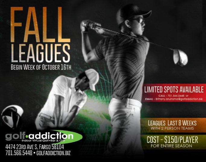 Golf Addiction | Indoor Billboards | Off The Wall Advertising