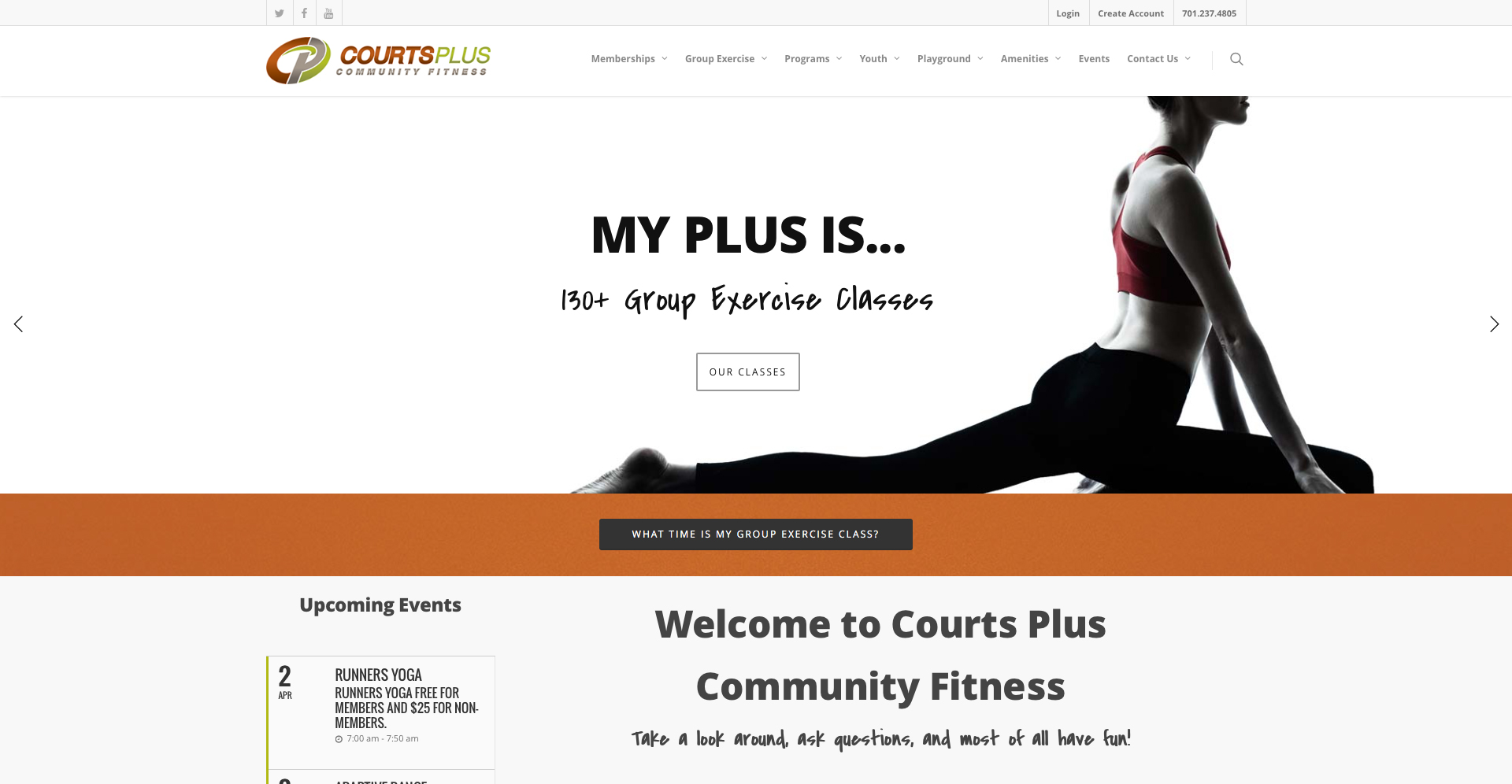 Courts Plus | Websites | Off The Wall Advertising