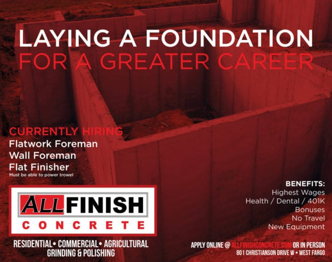 All Finish Concrete | Indoor Billboards | Off The Wall Advertising