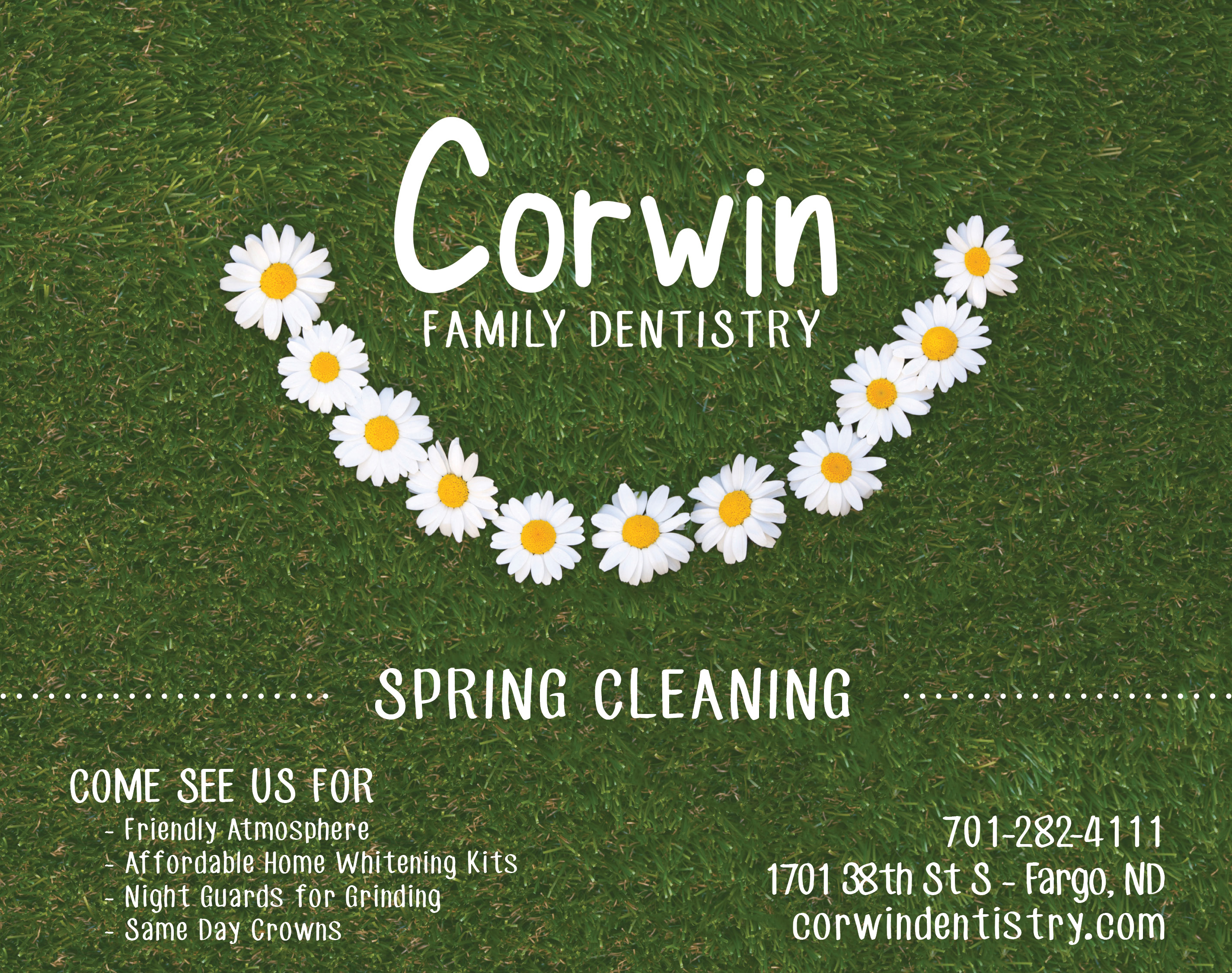 Corwin Dentistry | Indoor Billboards | Off The Wall Advertising