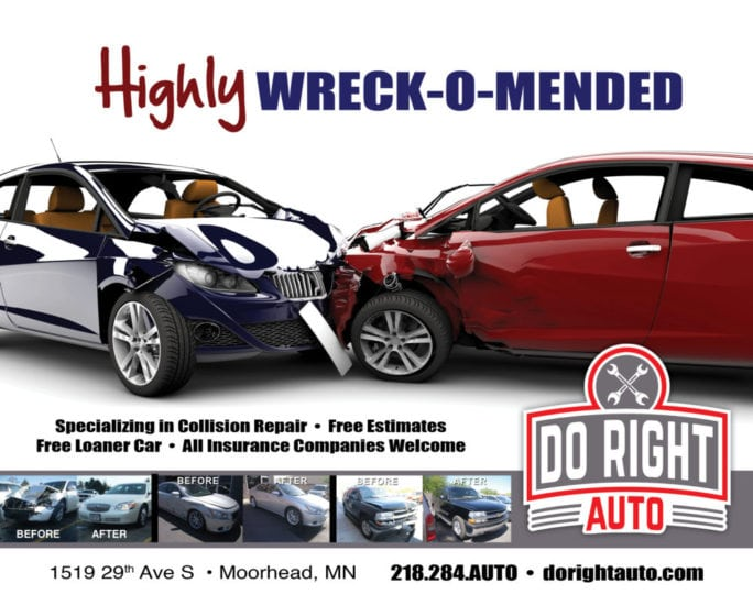 Do Right Auto | Indoor Billboards | Off The Wall Advertising