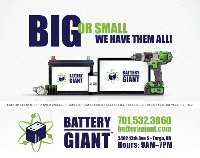 Battery Giant | Indoor Billboards | Off The Wall Advertising