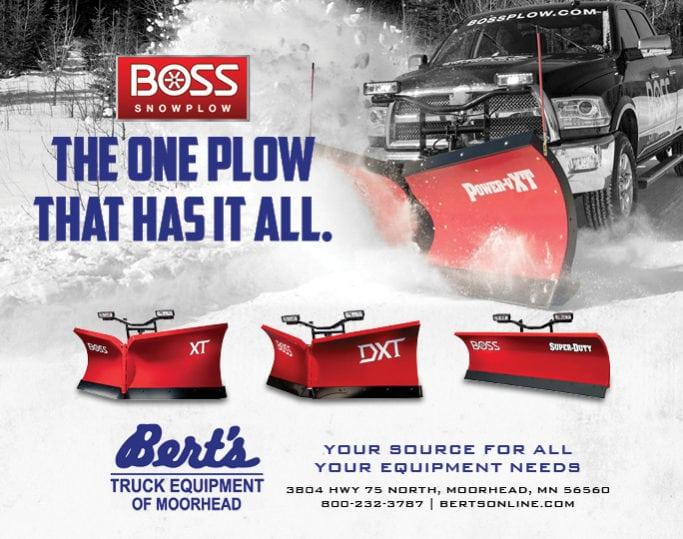 Bert's Truck Equipment | Indoor Billboards | Off The Wall Advertising