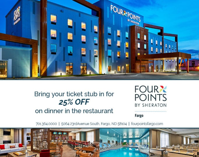 Four Points | Indoor Billboards | Off The Wall Advertising