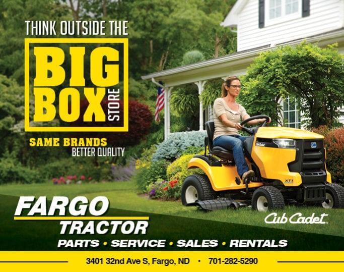 Fargo Tractor | Indoor Billboards | Off The Wall Advertising