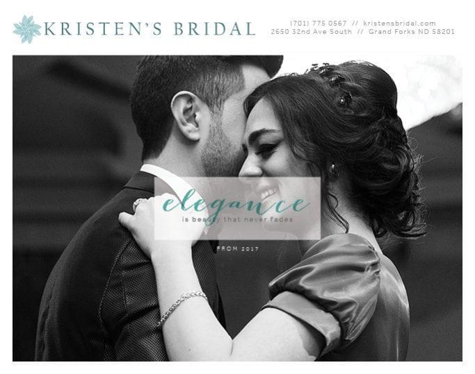 Kristen's Bridal   Indoor Billboards   Off The Wall Advertising