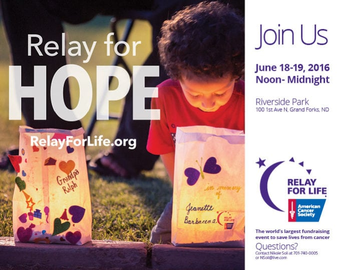 Relay For Life   Indoor Billboards   Off The Wall Advertising