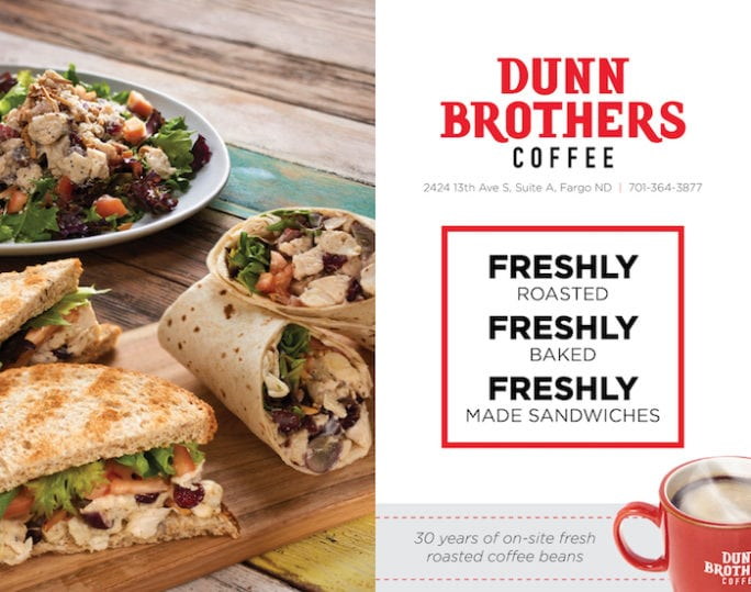 Dunn Brothers Coffee | Indoor Billboard | Off The Wall Advertising