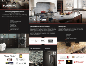 Luxury Designs   Print & Design   Off The Wall Advertising